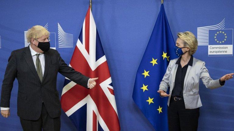 Brexit 'Large gaps' remain after trade talks with Ursula von der Leyen
