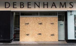 Covid-19 tier system - Debenhams website & Wong sentencing