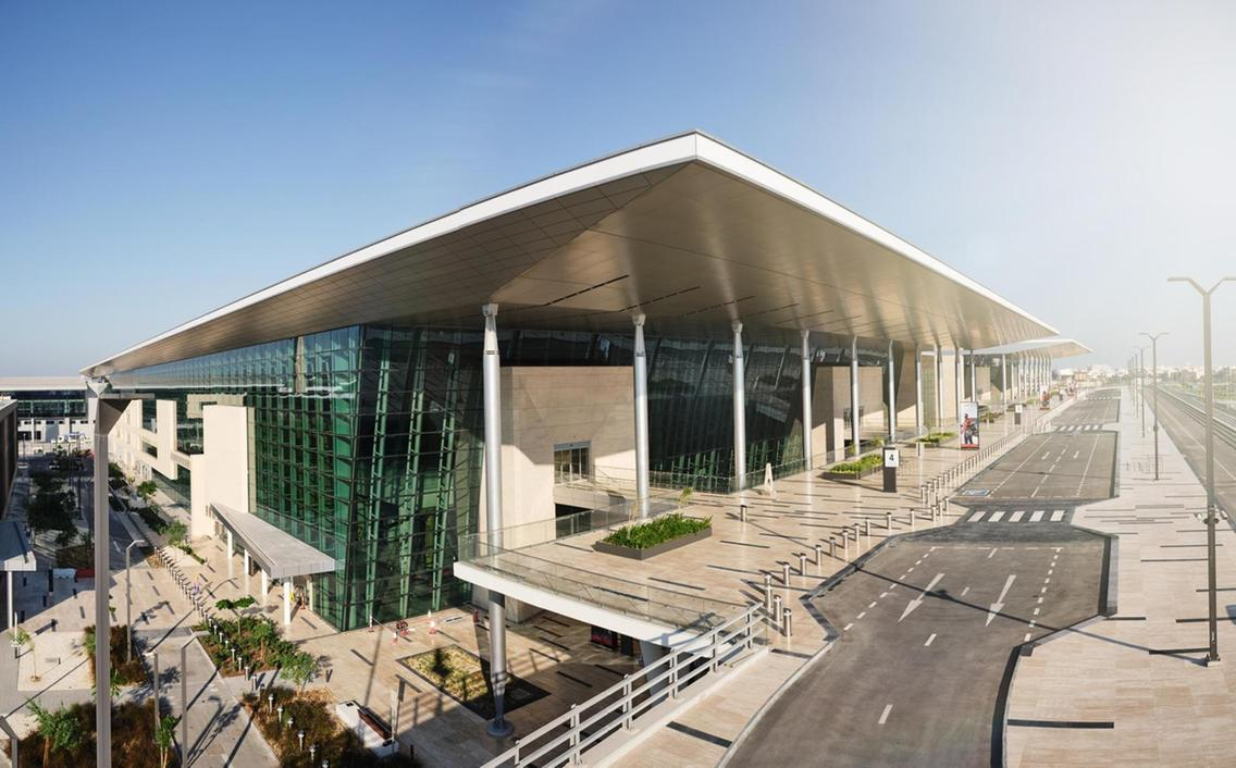 The new terminal building at Bahrain International Airport opened on Thursday, January 28. Courtesy Bahrain Airport Company