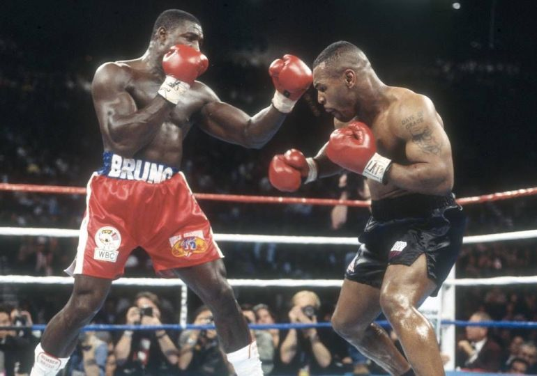 Mike Tyson and Frank Bruno reunited for 'Bruno v Tyson' documentary