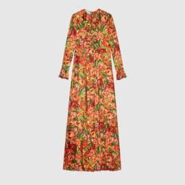 The North Face x Gucci silk dress