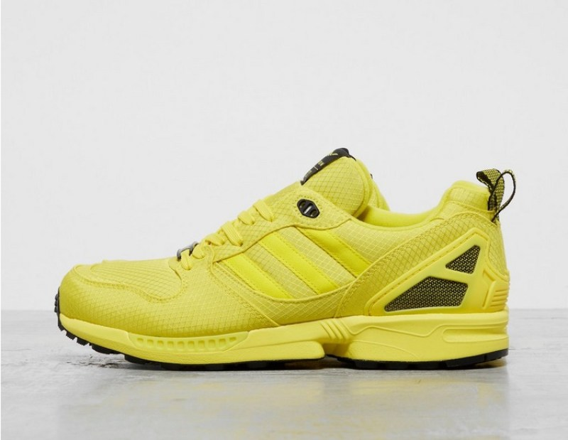 New adidas originals shoes are made of yellow kevlar ZX 5000 Torsion