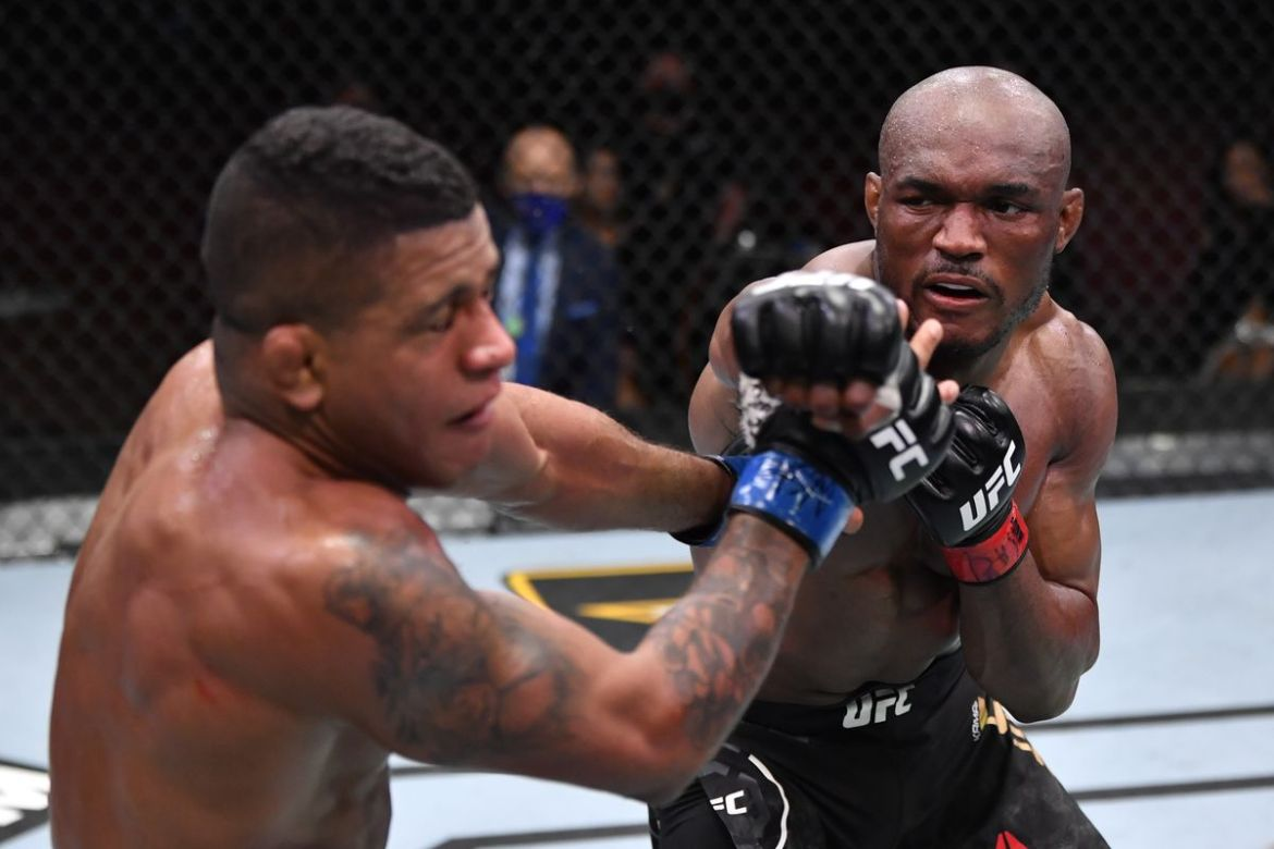 On Saturday night, kamaru usman successfully defended his UFC Welterweight title after defeating former training partner gilbert burns ufc