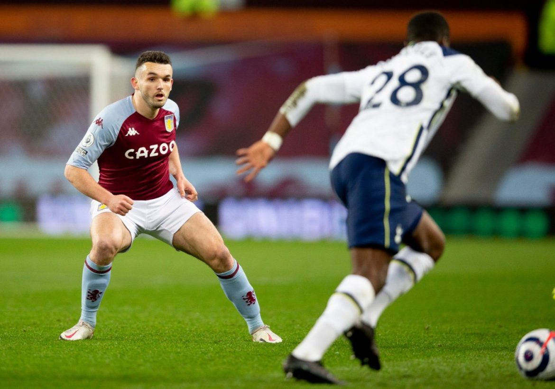 Premier League fixture between Aston Villa and Tottenham