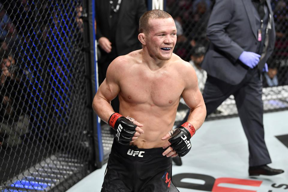 Petr Yan will be looking to defend his UFC Bantamweight title against Aljamain Sterling at UFC 259