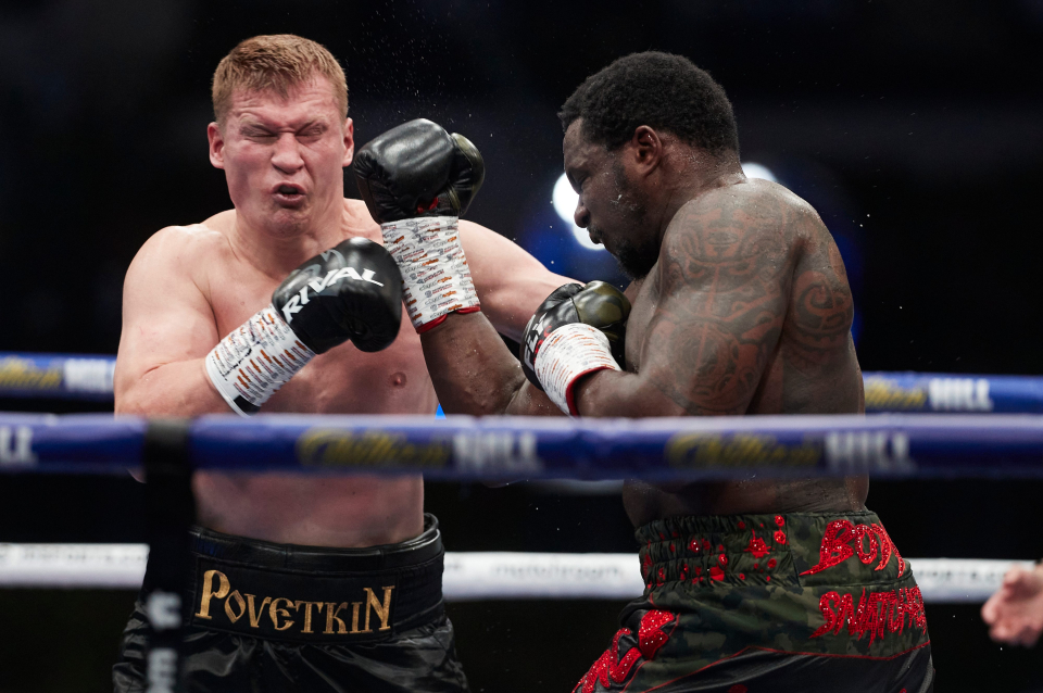 """Dillian Whyte says """"I'm coming for war"""" ahead of rematch with Alexander Povetkin"""