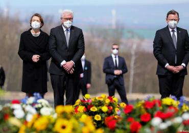 Germany remembers victims of Nazis 76 years after liberation of Buchenwald concentration camp