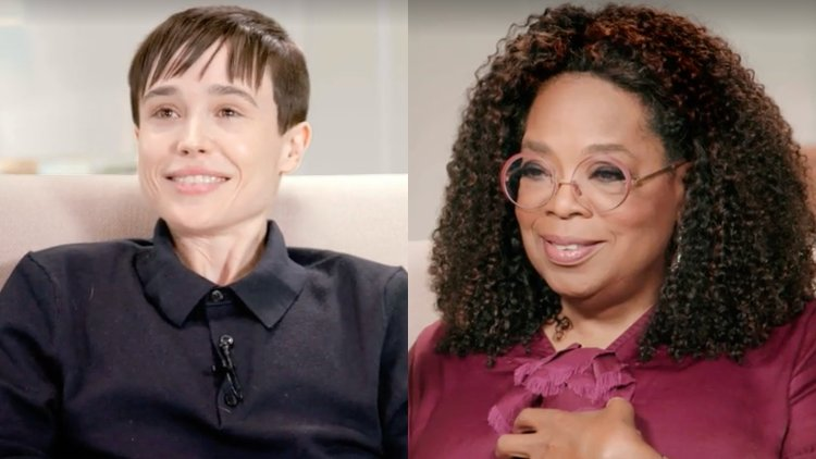 Trans TransIsBeautiful TransRightsAreHumanRights Elliot Page Oprah