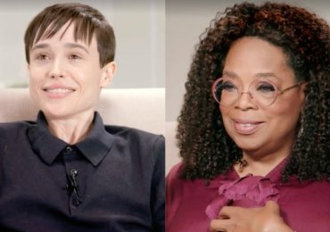 Elliot Page speaks to Oprah - on his transition and being comfortable in his body