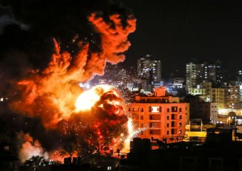 Palestinians report several killed in Israeli air raid on Gaza