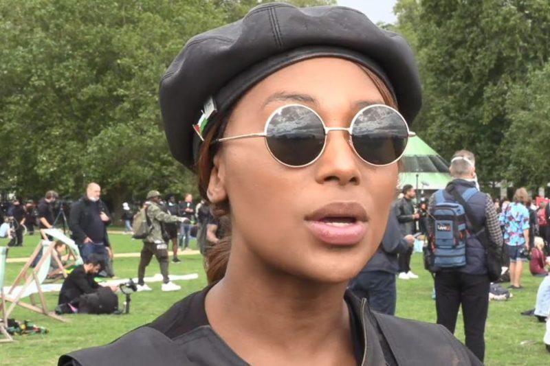 sasha johnson London Black Lives Matter BLM