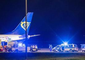 Bomb threat forces Ryanair passenger plane to make emergency landing