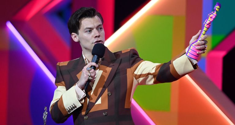 Brit Awards 2021: Harry Styles 'confusing' American accent