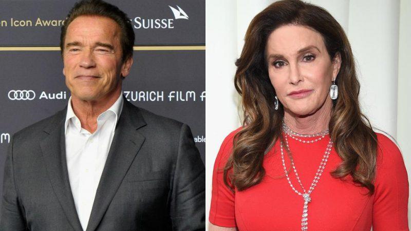 Arnold Schwarzenegger backs Caityln Jenner bid for California governor