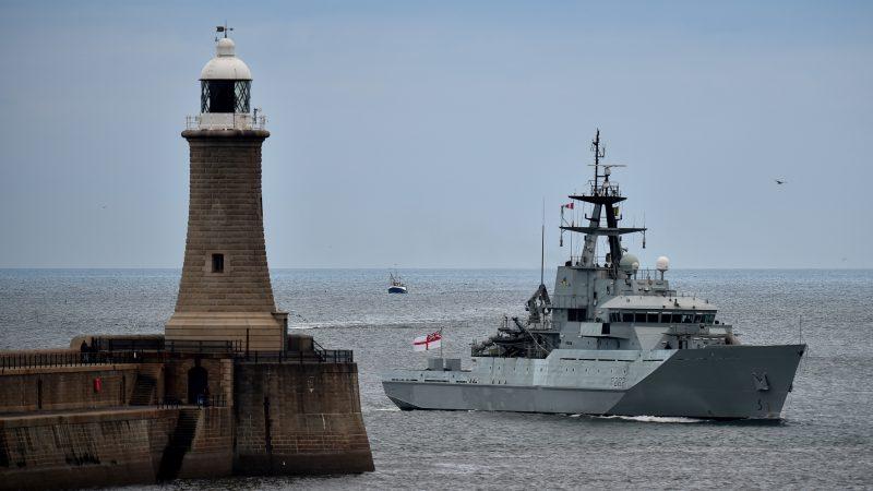 Royal Navy patrols Jersey - 2021 polling day - Joshua Wong jailed