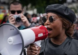 London BLM activist Sasha Johnson shot in the head