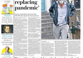 The Daily Telegraph - Britain facing cancer crisis after Covid-19