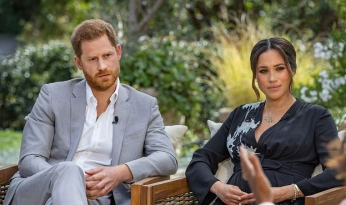 Prince Harry and Meghan Markle made accusations of racism against an unnamed senior member of the royal family