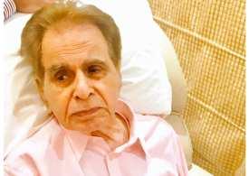 Indian megastar Dilip Kumar hospitalized in Mumbai