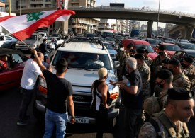 Lebanese protesters throw stun grenades at soldiers, injuring 10 - Army
