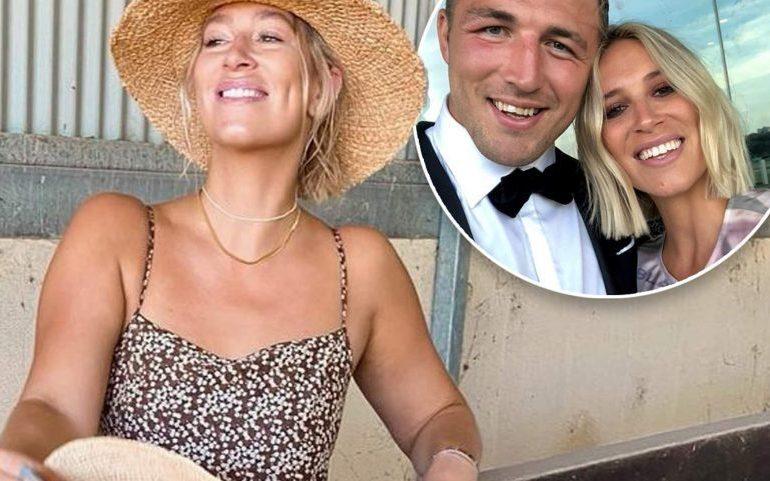 Phoebe Burgess explains using her NRL star ex-husband last name