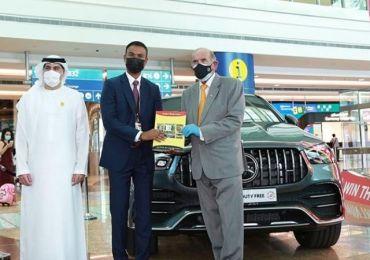 Dubai-based Indian businessman wins $1m in Dubai Duty Free raffle draw
