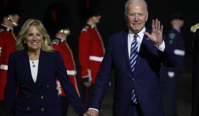 Joe Biden's furious rebuke to Boris Johnson