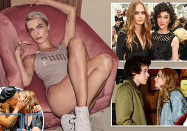 Cara Delevingne bares all from hot male stripper friends to boob ops and nose jobs