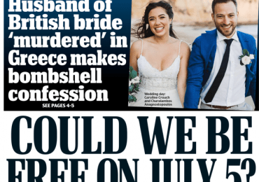 Daily Mail - Could we be free on July 5?