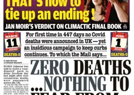 The Daily Mail - Nothing to fear from 21 June freedom