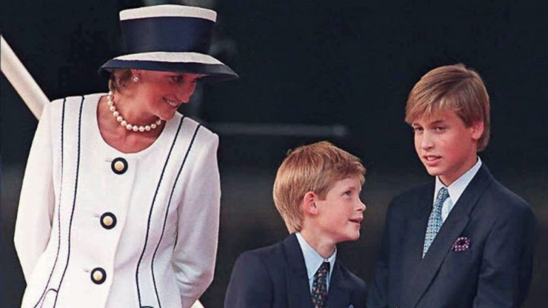 Prince Harry tells young people 'our mum would be proud of you' ahead of Diana statue with brother Prince William