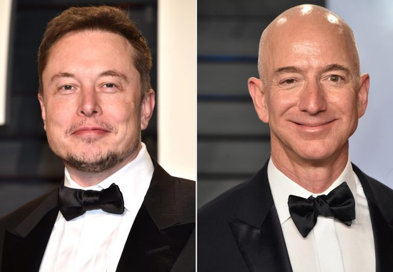 Jeff Bezos and Elon Musk among billionaires who 'paid little to no federal tax for years'