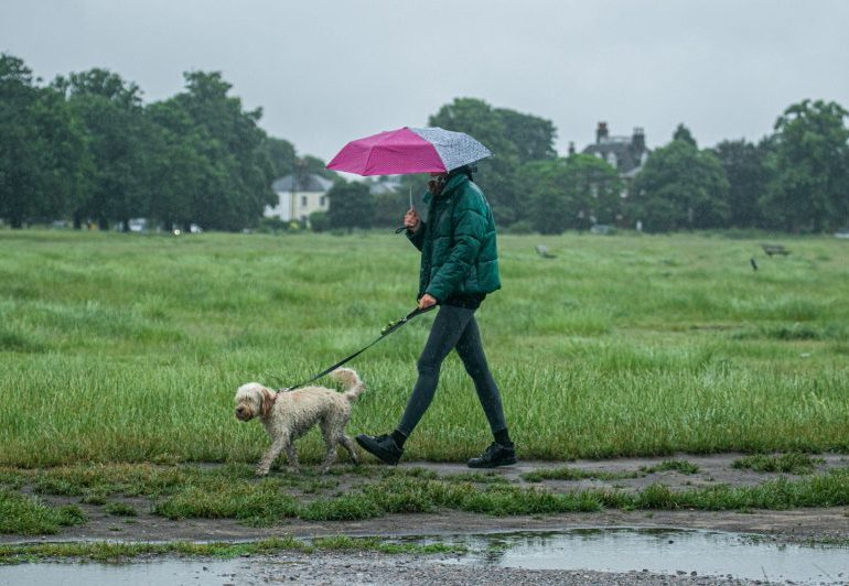 UK faces 'European monsoon' with heavy rain and four blasts of low pressure