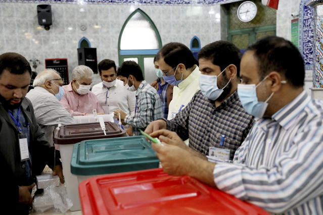 Iran votes in presidential election, tipped in favour of hardline judge