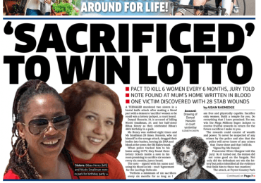 Metro - Two sisters 'sacrificed' to win the lotto