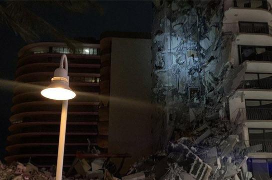 Miami building collapse: Huge search for survivors