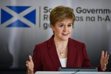 Nicola Sturgeon defends Manchester travel ban