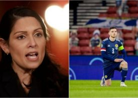 Priti Patel: Footballers take the knee as gesture politics - fans can boo if they want