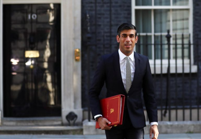 Rishi Sunak pushes Boris Johnson for tighter controls on spending as £4bn bill for state pension hike looms