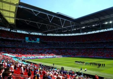 Spectator in 'serious condition' after fall from Wembley stand at England match