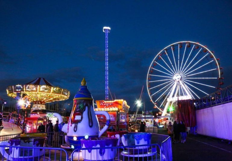 Six rushed to hospital as busy fairground ride filled with children 'collapses'