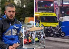 Man stabbed to death near Brixton 'while filming a music video'