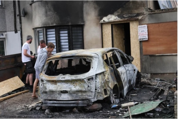 A TIKTOK family have revealed their home was targeted in a suspected arson attack.
