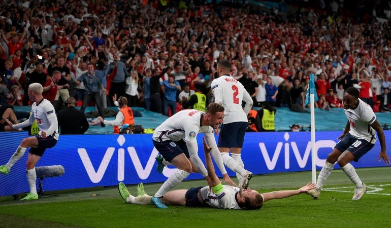 England make history as they beat Denmark 2-1 to reach Euro 2020 final