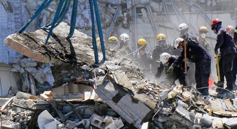 Death Toll Rises at Site of Collapsed Florida Condo