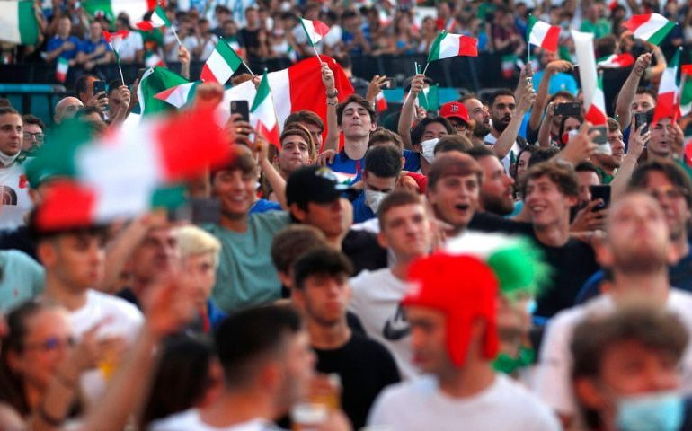 Italy fans to be allowed into Euro 2020 final at Wembley without self-isolating