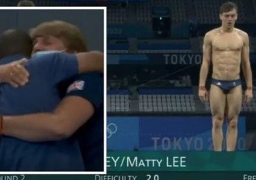 Tom Daley and Matty Lee win Olympic gold with incredible dive - 'unbelievable! Yes!'