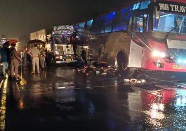 Barabanki accident: 18 dead in horror crash in India