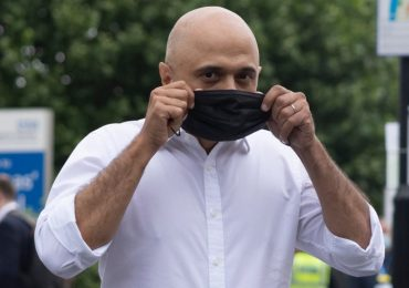 Anger over Sajid Javid's advice to not 'cower' from Covid