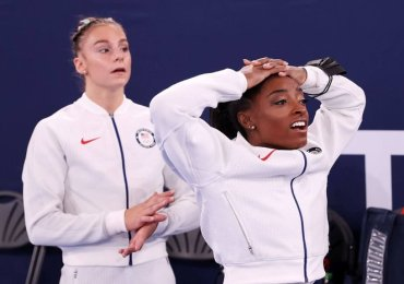 Tokyo 2020: Why 'superhuman' Simone Biles could change attitudes to mental health in sport